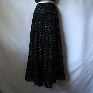 Dresses & Skirts - Sparkly Black Maxi Skirt